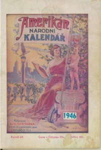 This is one of the few issues of Amerikan Narodni Kalendar that I have in my library.