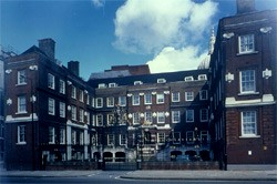 The home of the College of Arms.  A useful took in genealogy research.