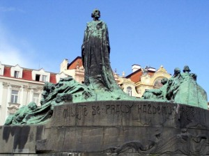Jan Hus is a significant figure in history and genealogy if you have Czech family history.