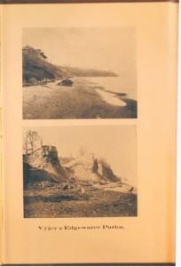 Two photos of Edgewater Park, Cleveland, Ohio from Hugo Chotek book'