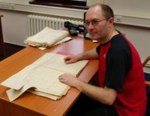 Martin Pytr an excellent genealogist in the Czech Republic