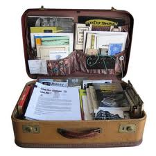 Tips and hints for your genealogy briefcase or purse!