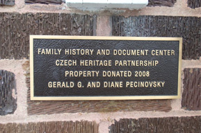 """The Czech Heritage Partnership has a wonderful group of volunteers and an awesome """"Family History and Document Center"""" in Protivin, Iowa."""