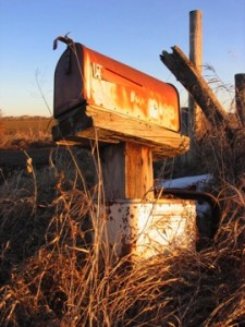 In genealogy and family history the good old mailbox still ROCKS!