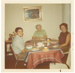 My wonderful Mom, my Aunt Em Vanek and me enjoying wonderful times together.
