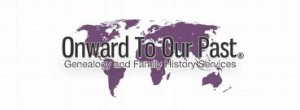 Onward To Our Past -- our logo.