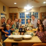 A sample of a typical Thanksgiving gathering at our home!