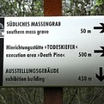 One of the directional signs at Langenstein today.