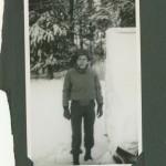 My dad, somewhere in Belgium.