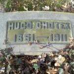 Gravestone for Hugo Chotek located at Lake View Cemetery, Cleveland, Ohio.