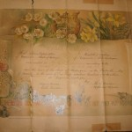 Thomas Phillips Allen's marriage certificate.