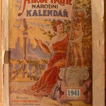 A sample cover of Amerikan Narodni Kalendar.