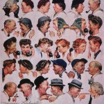 Norman Rockwell illustrating the power of 'a story'!