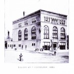 Bohemian National Hall from Amerikan Narodni Kalendar 1898.