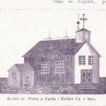 Czech church in Butler County, Nebraska.