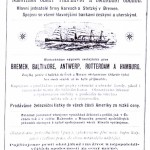 Shipping advertisement from 1892.