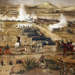 A depiction of one battle during the Second Franco-Mexican War Josef fought in.