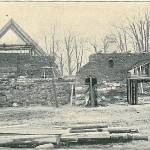 The building of the farm from Opava in 1894 for the Exposition.