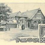 1896 Czech cottage