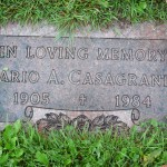 Mario gravestone