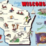 wisconsin post card