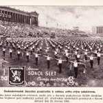 Sokol gathering in Soldier Field, Chicago, Illinois