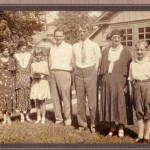 My newest mystery undertaking.  I wonder if the man in the tie is the same as the standing man in the wedding photo?