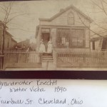 My great grandmother and great, great grandmother at home in Cleveland, Ohio.