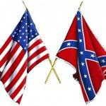 Civil war flags two