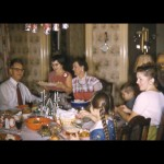 Christmas Dinner with my Gramps on the far left.  Circa 1953 in Cleveland, Ohio