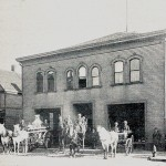This is a Cleveland fire station, which originally was the Perun Bohemian Hall.