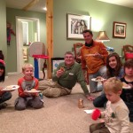 One of our recent family pasty parties.  Everyone loves them!