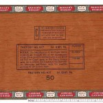 True cigar boxes have a tax stamp on them.