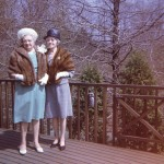 My grandmother and her sister.  Stylin' for the camera!