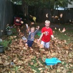 Autumn leaves with The Grands