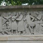 A portion of the frieze