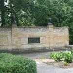 A portion of the Czech Cultural Garden.