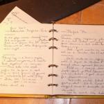 Family recipes in my mom's handwriting.
