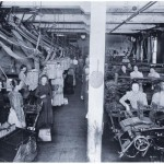 North Star Woolen Mill interior. Courtesy of MNHS.