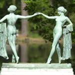 1921 Dancing maidens Norfolk VA