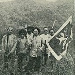 Vraz with flag in Japan