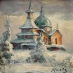 Radhost Chapel by Pavel Laska.