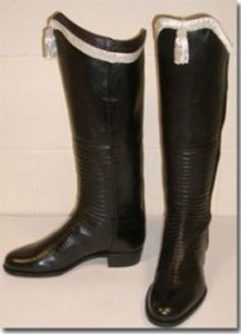An example of Hussar boots.