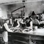 Glove making,