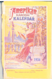 1934 ANK Cover page