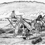Sheaf-tying machine by McCormick. 1884