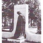 Beránek monument in Bohemian National Cemetery, Chicago.