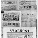 Early Czech newspapers in the United States.