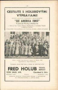 1951 Fred Holub advert full
