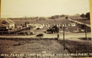 1951 Belle Plaine Iowa hobo camp